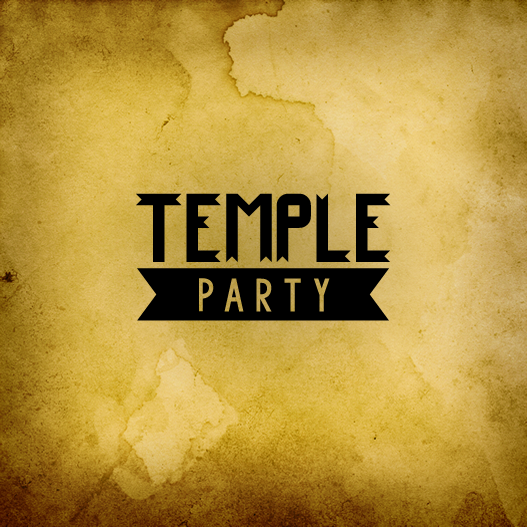 Temple Party VR Graphic